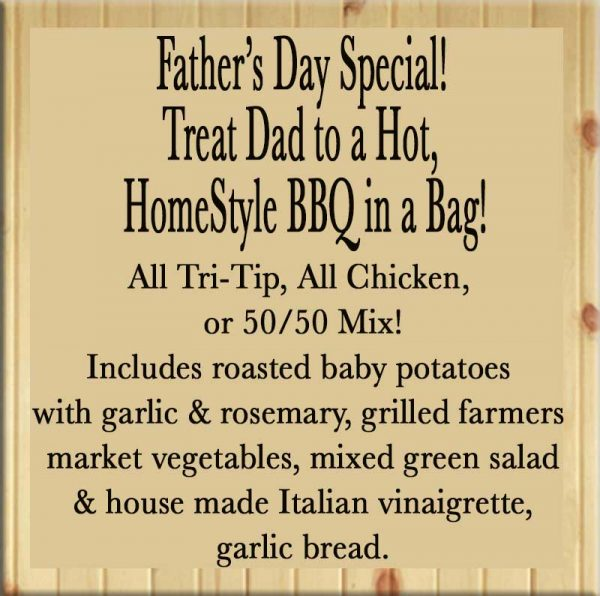 Father's Day BBQ in a Bag